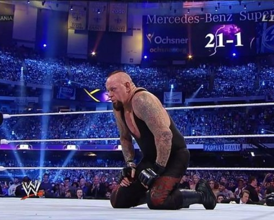 Undertaker Wrestlemania