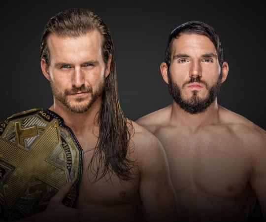 Adam Cole (c) vs Johnny Gargano
