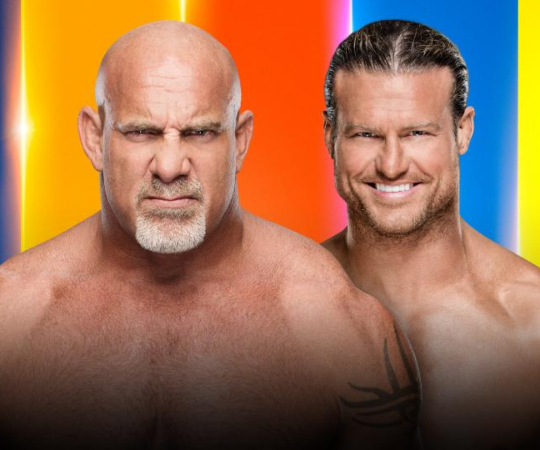 Goldberg vs Dolph Ziggler