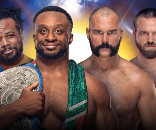The New Day (c) vs The Revival