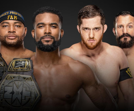 The Street Profits(c) vs The Undisputed Era