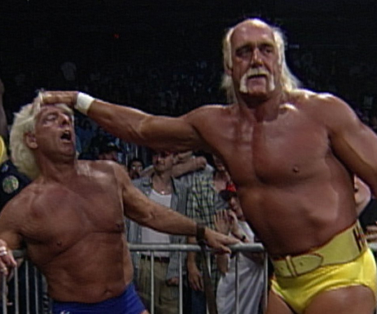 Ric Flair y Hulk Hogan