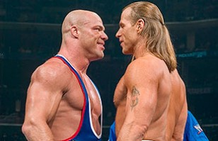 ¿La mejor lucha jamás vista? Kurt Angle vs Shawn Michaels en Wrestlemania 21