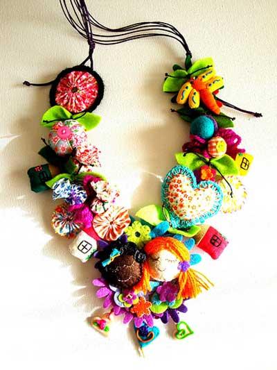 Los collares del optimismo manualidades y artesan a - Bolas de madera para manualidades ...