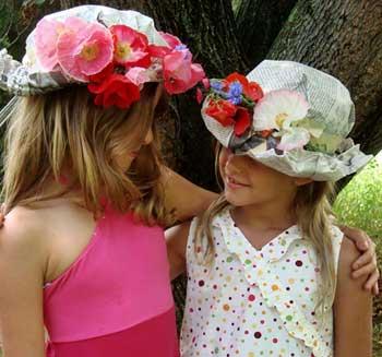 Manualidades para niños  Sombreros de papel  df2014a24ac