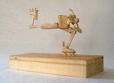 Madera Juguetes Que Expresan Movimiento Manualidades Y Artesania - Trabajos-manuales-en-madera