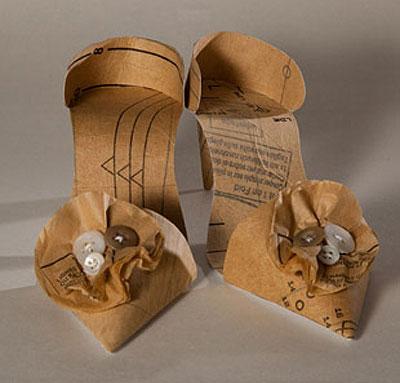 Papel reciclado recreando objetos de arte manualidades - Manualidades en reciclaje de carton ...