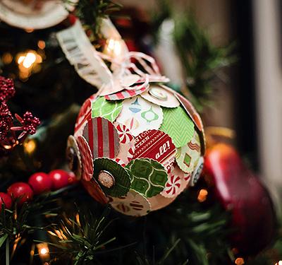 Adornos navide os hechos a mano manualidades y artesan a - Adornos navidenos hechos en casa ...