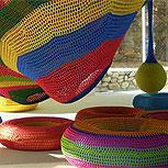 Pasen a ver un parque de diversiones… ¡a crochet!