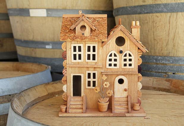 Elegantes casas de corchos para p jaros californianos - Casas de corcho ...