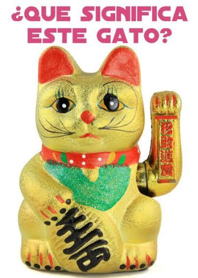 Qu significa el gato que mueve el brazo  Manualidades y Artesana