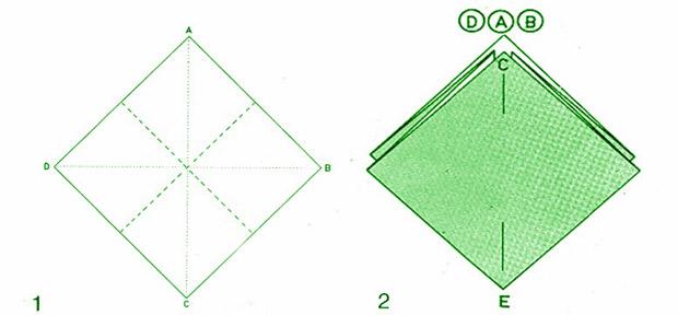 Qu es el origami y para qu sirve manualidades y - Origami con servilletas ...