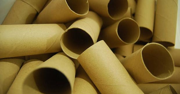 Buenas ideas decorando con rollos de papel higi nico - Manualidades con rollos de papel higienico para decorar ...