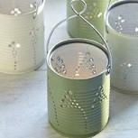 No botes esas latas de conserva… y ¡hazte linternas para el jardín!