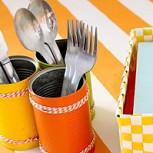 Eco-ideas: Aprendiendo a hacer envases decorados usando latas vacías