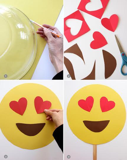 una buena idea para disfraces haz los emojis emoticones de whatsapp manualidades y artesan a. Black Bedroom Furniture Sets. Home Design Ideas