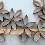 Aprende a hacer un proyecto artístico con rollos de papel higiénico!