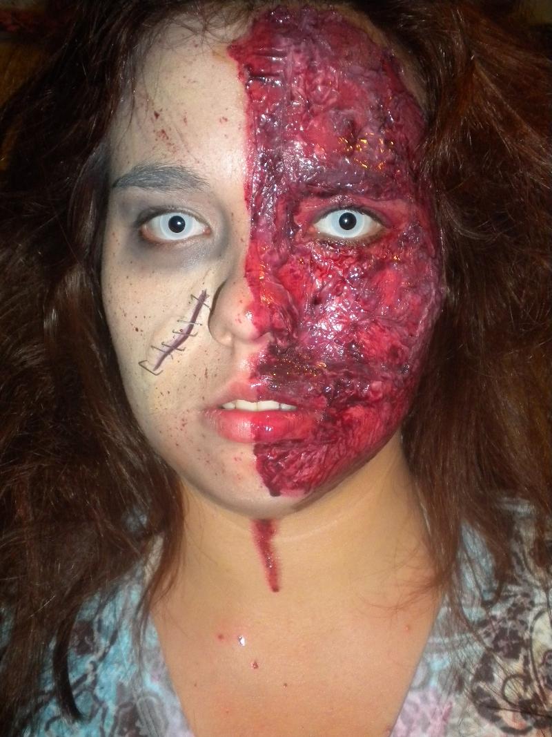 C mo maquillarte para ser el m s terror fico zombie - Como maquillarse de zombie ...