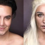 Filipino se transforma en las mujeres de Game of Thrones utilizando maquillaje