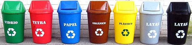 C mo separar la basura para que sea reciclada medio ambiente - Colores para reciclar ...