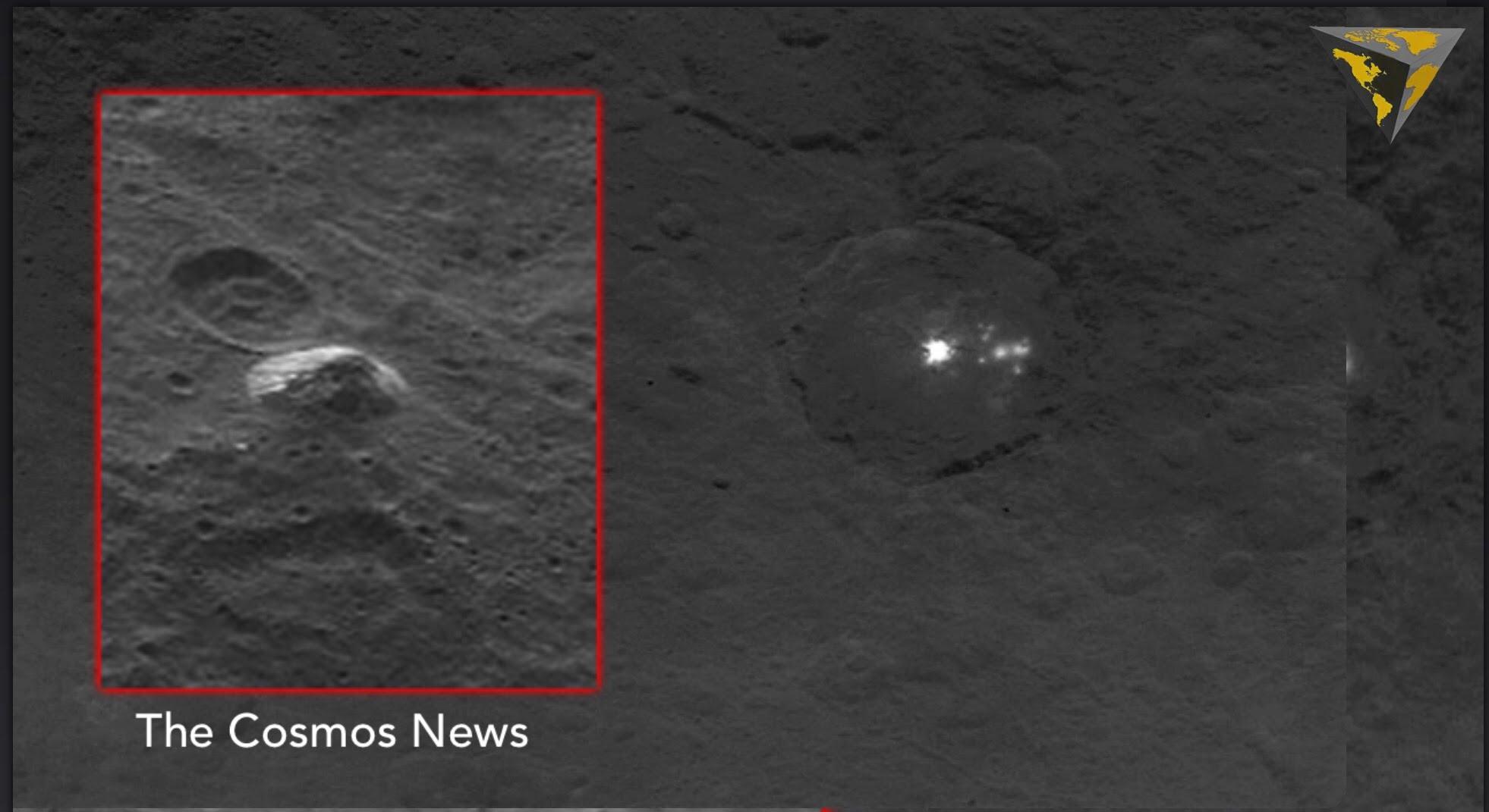 Ceres el planeta donde existirían pruebas de vida alienígena