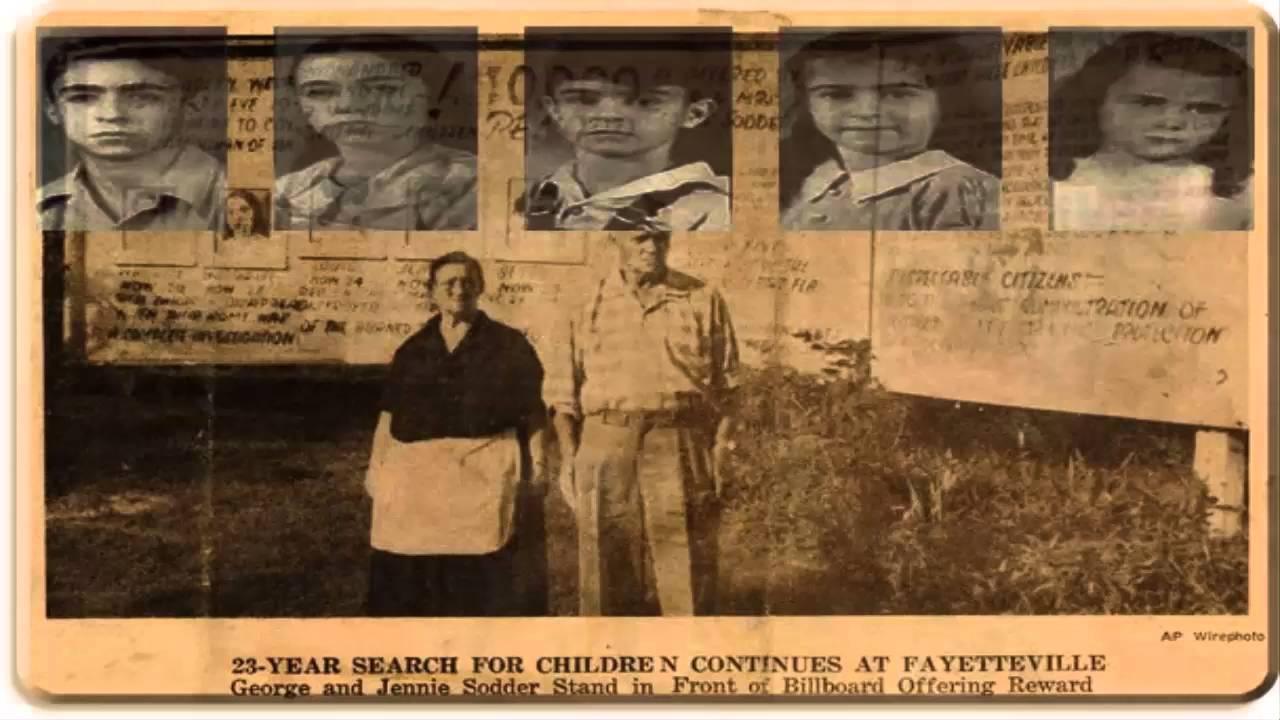 Resultado de imagen para imagenes desaparicion niños sodder