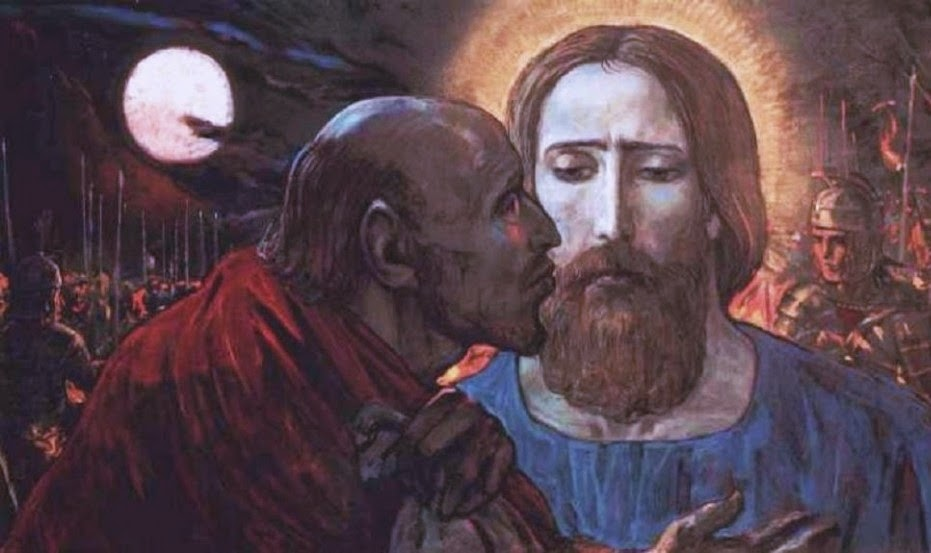 evangelio kiss-of-judas