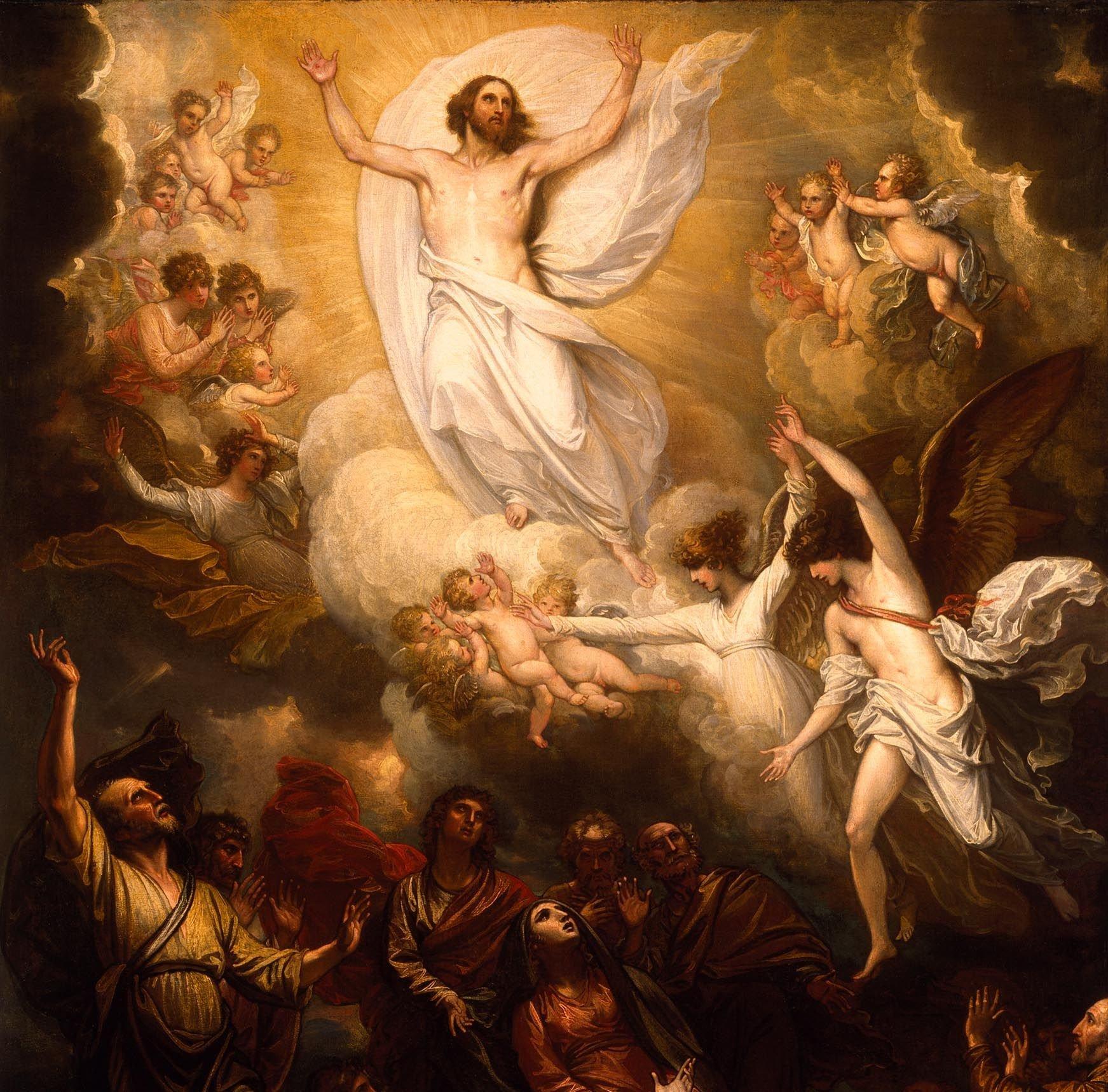 Resurrección la-ascension-de-nuestro-señor-fondo