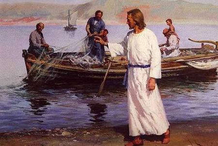 resurrección Jesus-mar de galilea