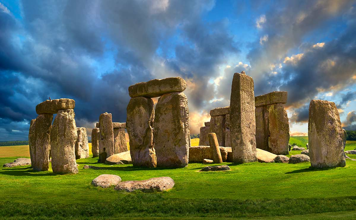 stonehenge colours