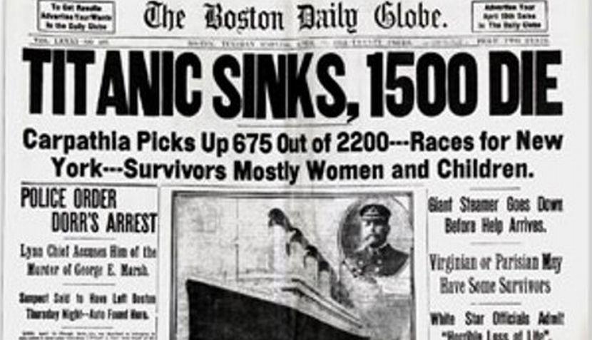 Titanic prensa