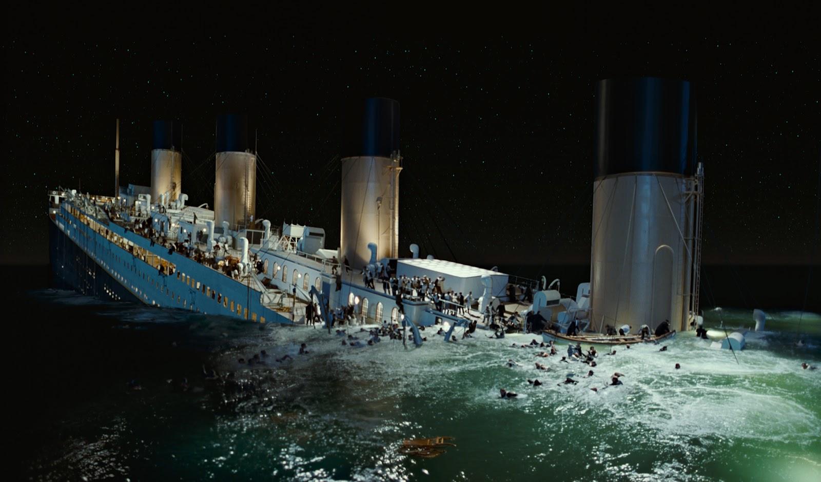 Titanic untergang