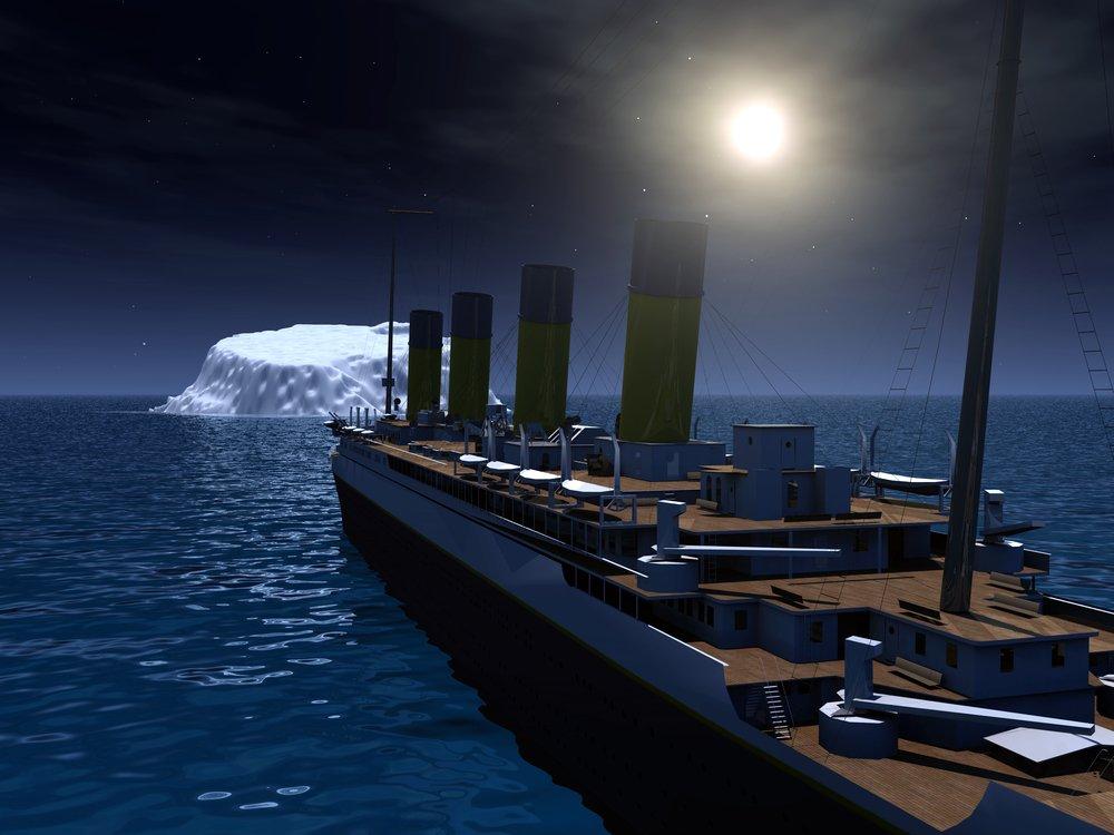 titanic-and-iceberg