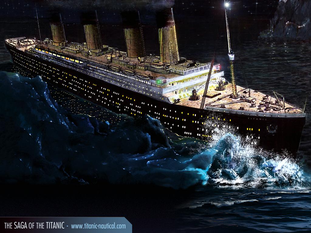 titanic-choque