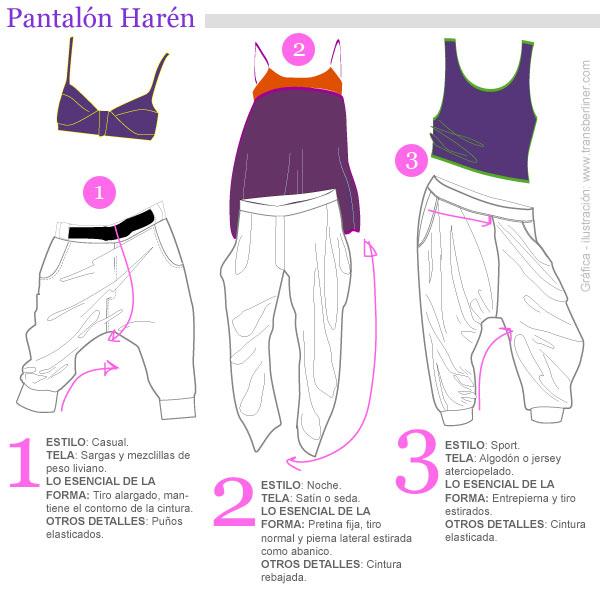 Pantalón harén