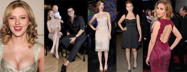 Scarlett Johansson para DG. Fotos: Agencias