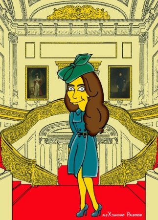 Kate Middleton Simpsons