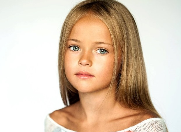 """La """"niña más linda del mundo"""" tiene 9 años y se perfila como top ..."""