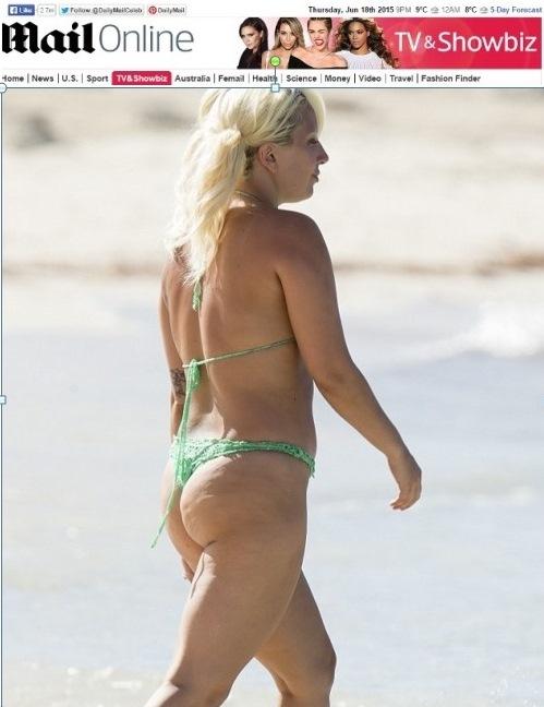 Su Desafortunada Gaga Y Elección De No Escapa BikiniCantante Lady qSzpVUM