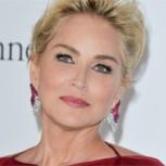 Sharon Stone luce espléndida a sus 57 años con elegante vestido