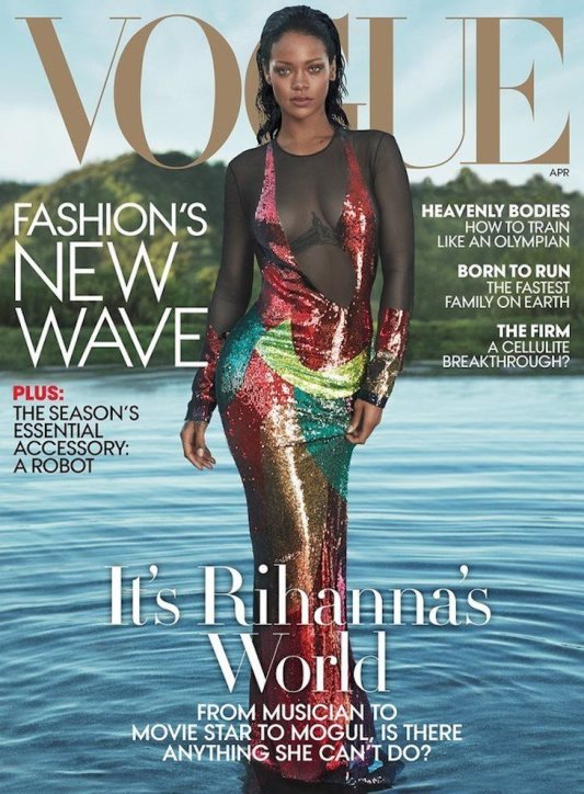 Rihanna en Revista Vogue