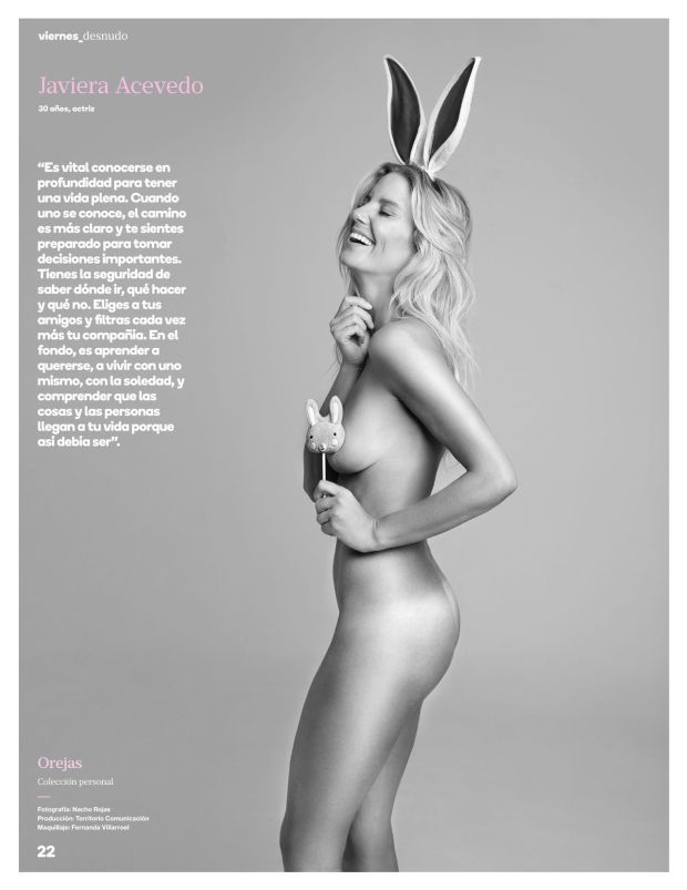 MINAS chilenas sensuales - Página 2 Javiera-acevedo-desnudo