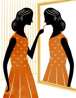 Gu a para saber mirarse bien al espejo mujer for Espejo de pared cuerpo entero