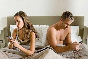 Smartphones parejas
