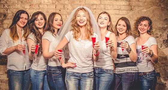 fiesta mujeres solteras