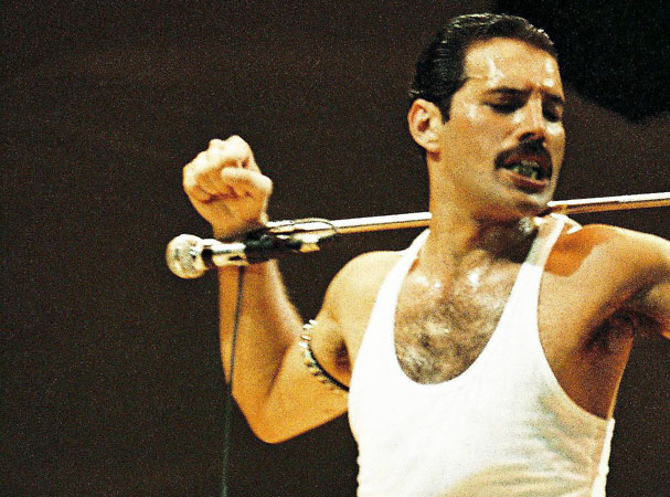 Queen Perform At Live Aid At Wembley