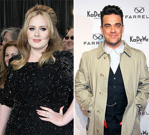 Adele Robbie Williams