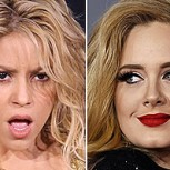 "Shakira acusa a Adele de plagio por la canción ""Million years ago"""