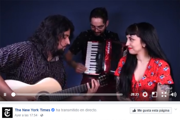 Mon Laferte en streaming por el NYTimes