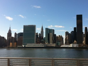 Vista de Manhattan desde Long Island City. Foto: Geronimo JImenez